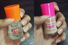- Gel Look ( top coat ) & Base Coat ( protective ) #nail #nails #nailstagram #nailart #nailpolish #easterholiday #easter