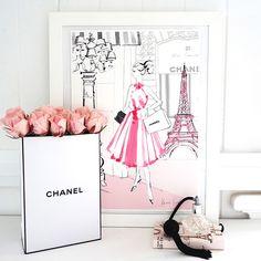Kerrie Hess — Paris en Rose