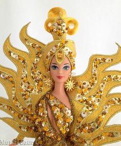 Bob Mackie Goddess of the Sun 1995 Barbie Doll