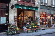 Fleuriste                                          Paris By Day - Fleuriste, Ile St. Louis by WVJazzman, via Flickr