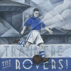 Tranmere Rovers FC - Tranmere Rovers Limited Edition Print by Paine Proffitt