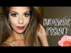 Romantic Summer Makeup Tutorial | Berry Lips - YouTube Beauty Youtubers, Berry Lips, Makeup For Blondes, Beauty Tutorials, Summer Makeup, Romantic, Romantic Things, Romance, Romances