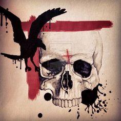 Skull polka trash by linefix on deviantART