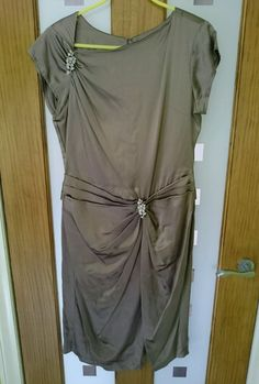 Ladies silk large (EU 42) size 12-14 cocktail dress