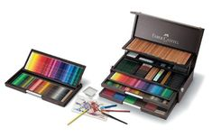 Faber Castell 250th Anniversary Collection Wooden Box Faber-Castell http://www.amazon.co.uk/dp/B0043QNLLC/ref=cm_sw_r_pi_dp_dFpvvb1BSGE5D