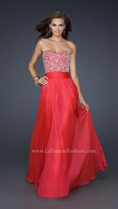 La Femme 17498 | La Femme Fashion 2014 - La Femme Prom Dresses - Dancing with the Stars