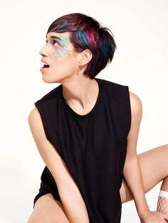 Keller the School - Alinea #kellertheschool #keller #haircuts #ss17 #hair #haircolor #окрашивание #стрижки #прически #стиль #тренд #мода  Make up: Tinka Luptkova  Photo: Vlado Golub