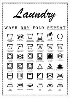 graphic about Laundry Symbols Printable identified as 59 Most straightforward Laundry Symbols visuals within just 2017 Laundry Space