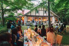Yasuhiko & Rie – Wedding at Summer Karuizawa     by AYANO TACHIHARA Wedding Design