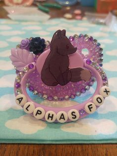 Embellished adult pacifiers for littles or adult baby in the abdl, Ddlg communities. Daddys Little Princess, Daddy Dom Little Girl, Daddys Girl, Ddlg Little, Little My, Little Things, Bling Pacifier, Age Regression, Toys