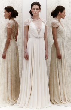 Ok, I know I'm already married, but this dress is so pretty. If i were ever to have a renewal ceremony this would be the dress. Bridal 2013 Collection - Jenny Packham