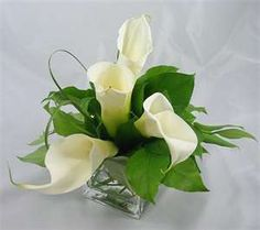 Calla Wedding Table Centerpiece Ideas