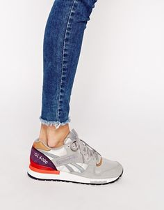 Enlarge Reebok GL 6000 Grey Retro Trainers