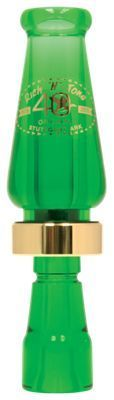 Rich-N-Tone Original Acrylic 40th Anniversary Edition Duck Call - Kelly Green