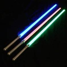Putting off being a Jedi Master can wait no longer. Buy yourself some lightsabers and master the force! Comes with three light sabers so make sure to have some Jedi apprentices with you. (http://www.noroip.com/invented4you/shop-products/lightsaber-swords/) #lightsabers #lightsabres #jedi #theforce #skywalker #swords #starwars #awesome #toys #halloween #invented4you #awesomeinventions #gifts