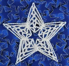 Today's pattern doesn't have six points. Crochet Snowflake Pattern, Christmas Crochet Patterns, Holiday Crochet, Crochet Snowflakes, Crochet Home, Crochet Motif, Crochet Crafts, Thread Crochet, Quilted Christmas Ornaments