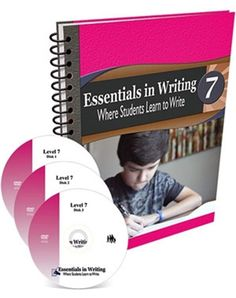All Essentials in Writing courses include an instructional video and a textbook/workbook. Essentials in Writing is a complete grammar and composition curriculum for students in grades Middle School Writing, In Writing, Writing Skills, Writing Curriculum, Homeschool Curriculum, Homeschooling, Learning To Write, Student Learning, Level 7