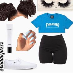baddie outfits for school Baddie Outfits For School, Swag Outfits For Girls, Cute Lazy Outfits, Cute Swag Outfits, Teenage Girl Outfits, Cute Outfits For School, Teen Fashion Outfits, Dope Outfits, Girly Outfits