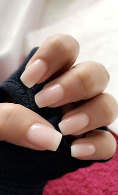 The most beautiful pink nails and pink nail colors! I've showcased light pink nails, blush pink nails, pink nails with a glitter accent, rose pink nails, and matte pink nails wedding nails 30 Pink Nails Examples: The Trendiest Pink Nail Colors to Use Blush Pink Nails, Pink Nail Colors, Hot Pink Nails, Light Pink Nails, Nail Colora, Pink Tip Nails, One Color Nails, Pretty Gel Nails, Pretty Short Nails