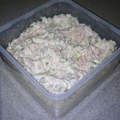 Domáci parížsky šalát Salads, Sandwiches, Recipies, Meat, Cooking, Food, Haha, Recipes, Kitchen