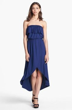 Sweet Pea by Stacy Frati Ruffled Tube Maxi Dress available at #Nordstrom