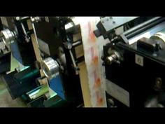 Flexographic printing on a Gallus 280