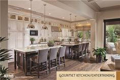 Ambassador Gardens, Parcel 16 Received a Best in American Living Platinum Award for Attached Homes/Townhouses Home Decor Kitchen, Home, Kitchen Models, Kitchen Remodel, Kitchen Decor, Kitchen Collection, Home Kitchens, Model Homes, Kitchen Design