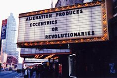 jenny holzer truisms marquee - Google Search