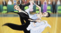 Welcome to the Ballroom is an interesting series. It's an anime that reads like a sports series, but focuses on classical dancing. However, while the story may be interesting, the art style has become off putting to some and I can clearly see why.