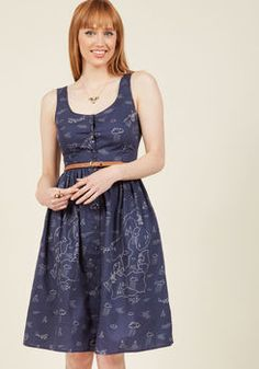 Scandinavian Appreciation Midi Dress