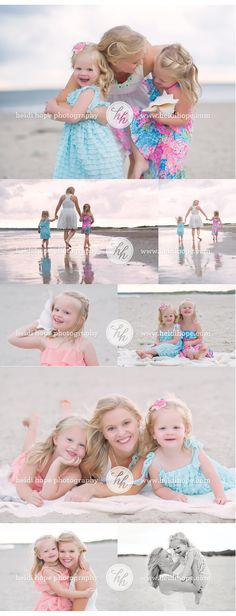 Sunset beach session with Heidi Hope Photography