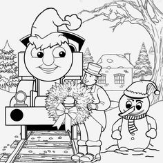 Thomas and Friends The Train Coloring Pages Free Printable ...