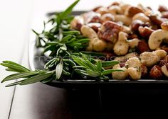 Spicy Rosemary-Roasted Nuts Recipe
