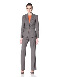 John Meyer Women's Charcoal Grey Pant Suit - JustCampus | Fashion ...