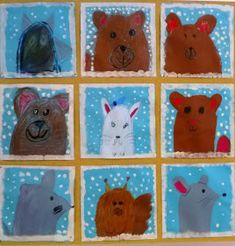 Classroom Art Projects, Art Classroom, Projects For Kids, Arts And Crafts, Diy Crafts, Winter Art, Craft Activities, Christmas Art, Art School