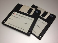 MS-DOS 5.0 installation floppies for Data General PCs.
