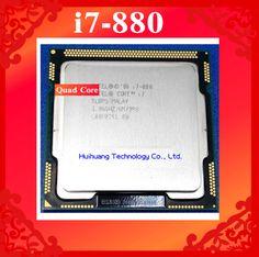 Core i7 880 3.06GHz 8M SLBPS Quad Core Eight threads desktop processors Computer CPU Socket LGA 1156 pin #CLICK! #clothing, #shoes, #jewelry, #women, #men