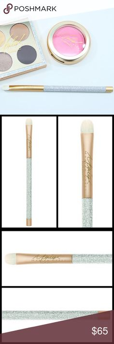 MAC Mariah Carey 239 Eye Shader Brush NWT! MAC Brush NEW never opened/used  A soft & dense brush to shade/blend eye shadow. Rounded edge w/smooth, firm, fine fibres. Can be used to build & press intense colour on lid. Handle features luxurious silver glitter w/champagne metal accents & Mariah's signature.  100% Authentic, I have receipts for proof. More pictures soon.   I have more from this Limited Edition & SOLD OUT Collection.   Price reflects exclusivity.   🏆 Suggested User 💗Bundles…