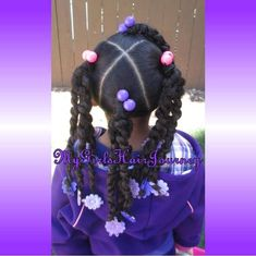 4 ponytails with twists - Modern Lil Girl Hairstyles, Girls Natural Hairstyles, Natural Hairstyles For Kids, Kids Braided Hairstyles, Black Toddler Hairstyles, Mixed Kids Hairstyles, Braids For Kids, Girls Braids, Curly Hair Styles