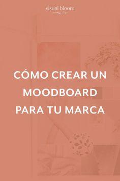 Cómo crear un Moodboard para tu marca Marca Personal, Personal Branding, Media Marketing, Digital Marketing, Marketing Ideas, Instagram Feed Ideas Posts, Social Media Branding, Brand Board, Crazy Life