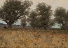 Kurt Jackson, James Abbott Mcneill Whistler, Landscape Elements, Art Students League, Olive Tree, Nocturne, Landscape Paintings, Oil On Canvas, Artsy