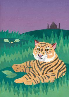 UK - Bengal Tiger    by Tia Eastwood