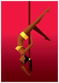 Posters by Martin Schwartz, via Behance