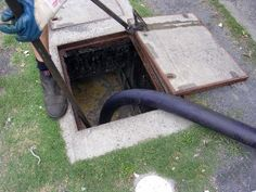 #Grease trap should be checked regularly and thoroughly cleaned to ensure its proper performance.