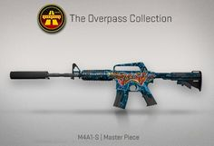 Counter-Strike Global Offensive: The Overpass Collection: M4A1-S Master Piece