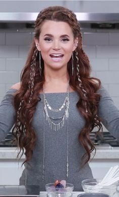 Rosanna Pansino with her elvin hair