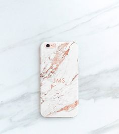 Rose Marble Phone Case Personalized Gift for Her, Sister, Mom, iPhone 7, 6S, SE, Plus Case Custom Christmas Stocking Stuffer Blogger by JoyMerrymanStore on Etsy https://www.etsy.com/listing/480538984/rose-marble-phone-case-personalized-gift