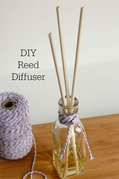 We've been loving our DIY reed diffuser jars that are filling our house with all the good smells!