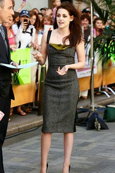 Kristen Stewart at The Today Show studios - celebrity fashion Kristen Stewart Fan, Kristen Stewart Movies, Bella Swan, Kari Wuhrer, Today Show, Best Actress, Work Fashion, Her Style, Beautiful Outfits