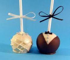 Wedding popcakes